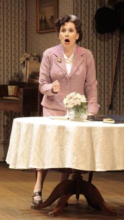 """Want virgins, not trollops!"" -- Janis Kelly as Lady Billows"