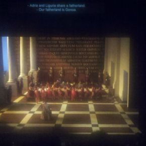 LA Opera's <i>Simon Boccanegra</i>:  the view from — and of — the Tweet Seats