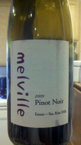 Mardi Gras wine:  2009 Melville Estate Pinot Noir – Sta. RitaHills