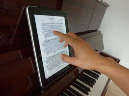 iPad page turn