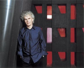 Worth the wait:  Simon Rattle triumphantly returns to the Los Angeles Philharmonic