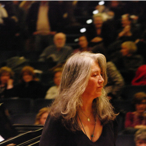 Happy Birthday to the great Martha Argerich