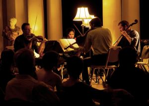 Southwest - Ravel String Quartet (photo by Andreas Salomon)