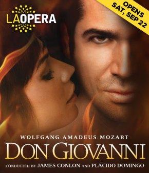 Back so soon?  Live tweeting Don Giovanni at LA Operatonight