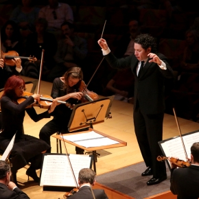 Make mine a double:  season opener by Dudamel and the LA Phil was so awesome, I had to see and hear it twice