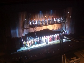 "Curtain Call: Opening night of ""I Due Foscari"" at LA Opera (photo by CK Dexter Haven)"