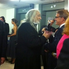 "A peek behind the scenes of LA Opera's glamorous opening night of ""I Due Foscari"""