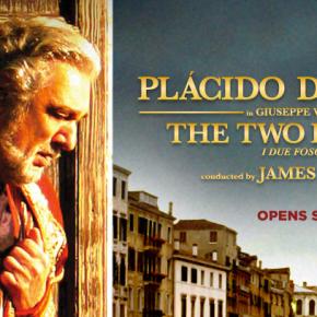 "Tweeting live from backstage at tonight's LA Opera season opener of ""The Two Foscari"" starring PlácidoDomingo"