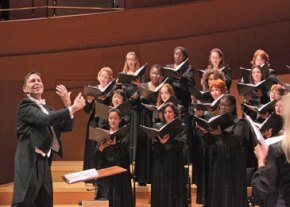 LA Master Chorale below their own high standards in program of Bach andVivaldi