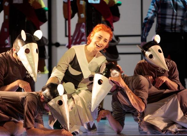 Ketevan Kemklidze as Cinderella (Cenerentola) for Los Angeles Opera (2013)