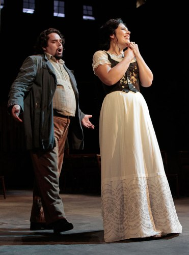 Cavaradossi and Tosca (Act 1)