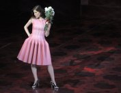 Cherubino dressed as a girl (Act 3)