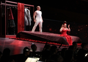 """A magnificent """"Marriage of Figaro:""""  LA Phil's modern staging of Mozart classic is a huge success on allfronts"""