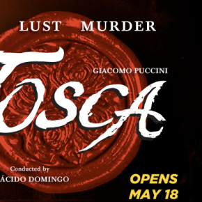 "Live tweeting from tonight's final dress rehearsal of LA Opera's ""Tosca"""