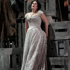 "Photos from LA Opera's current production of ""Tosca"""