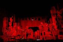Tosca BTS - Act 2 set
