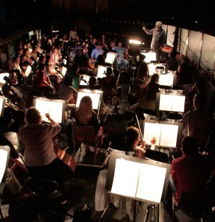 Tosca BTS - Placido Domingo and LA Opera Orchestra