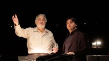 Tosca BTS - Placido Domingo with Jordi Bernacer