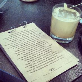 """Finally, a chance to enjoy killer drinks and tasty food at Michael Voltaggio's """"ink."""""""