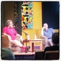 Mark Morris and Ara Guzelimian, Ojai Talks (photo: CK Dexter Haven)