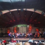 Saturday night's 8pm concert, Libbey Bowl, Ojai, CA (photo: CK Dexter Haven)