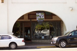 archway across the street from Libbey Park, Ojai, CA (photo: CK Dexter Haven)