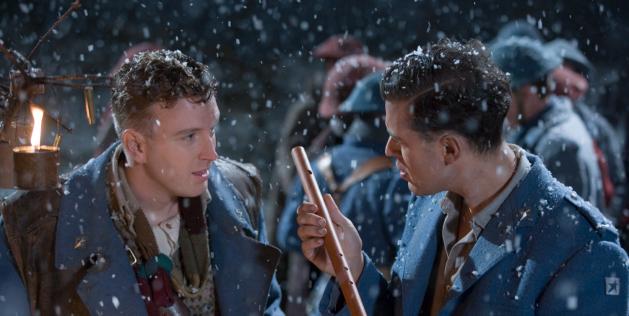 Benjamin Jay Davis and Joseph Kaiser in Branagh's Magic Flute-Courtesy of Revolver Entertainment