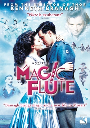 """For your consideration:  Kenneth Branagh's version of """"The Magic Flute"""" finally available on DVD in theUS"""