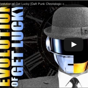 "And now for something completely different:  a chronological cover of Daft Punk's ""Get Lucky"""