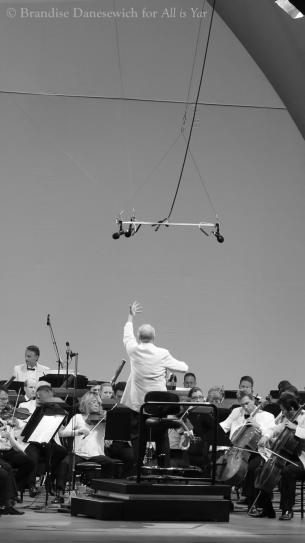 Rafael Frühbeck de Burgos - LA Phil - Hollywood Bowl - 23 July 2013 (photo by Brandise Danesewich) 16