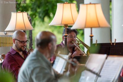 Daniel Rosenboom (trumpet) & Alvin Veeh (trombone)