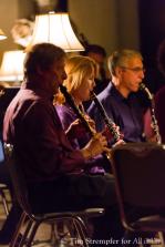 Jim Foschia & Helen Goode (clarinet), Gary Bovyer (basset horn)