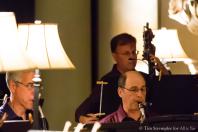 Gary Bovyer & Peter Nevin (basset horn), Tom Peters (double bass)