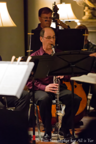Peter Nevin (basset horn), Tom Peters (double bass)
