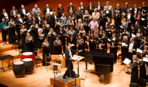 A golden celebration for golden voices: LA Master Chorale struts its considerable stuff in a living tour through itslegacy