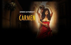 Live tweeting from today's closed final dress rehearsal of LA Opera's <i>Carmen</i>