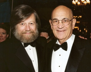Morten Lauridsen, Composer in Residence, and Paul Salamunovich