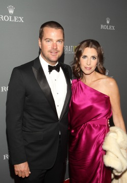 Chris O'Donnell and his wife, Caroline Fentress:  Los Angeles Philharmonic's Walt Disney Concert Hall 10th Anniversary Celebration - Red Carpet Arrivals