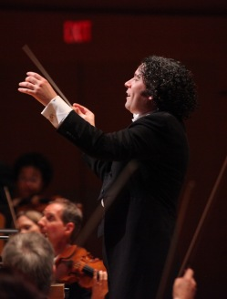 Gustavo Dudamel conducting:  Los Angeles Philharmonic's Walt Disney Concert Hall 10th Anniversary Celebration - Performance