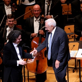 Frank Gehry gets the hero treatment at LA Phil season opening gala