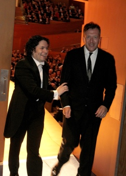 Gustavo Dudamel & Thomas Ades:  Los Angeles Philharmonic's Walt Disney Concert Hall 10th Anniversary Celebration - Backstage & Gala