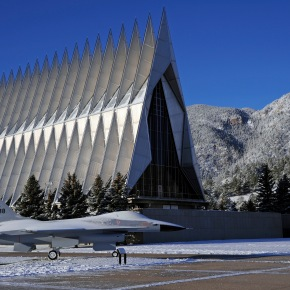 Veteran's Day music, care of the US Air Force Academy Cadet Chorale