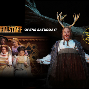 Live tweeting from tonight's final dress rehearsal of LA Opera's <i>Falstaff</i>