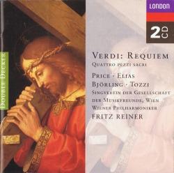 Verdi Requiem and Quattro pezzi sacri