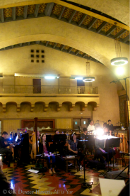 Invisible Cities - chamber orchestra in Union Station Harvey House (photo by CK Dexter Haven)