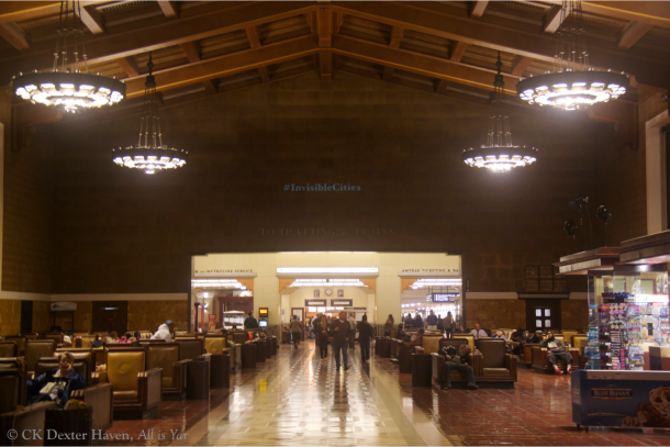 Invisible Cities - Union Station main lobby (photo by CK Dexter Haven)