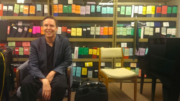 Grant Gershon in his office (photo by CK Dexter Haven for All is Yar, www.allisyar.com)