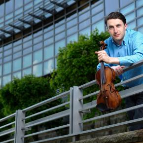 The new 1st Concertmaster of the Berlin Philharmonic will be an American: Noah Bendix-Balgley