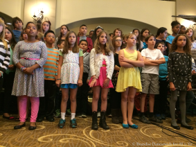 5th grade chorus in rehearsal 1