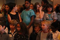 5th grade chorus in rehearsal 3